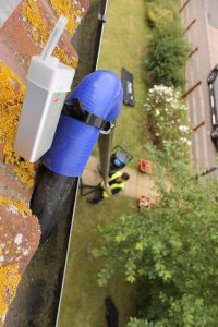 Gutter Inspection using SkyVac